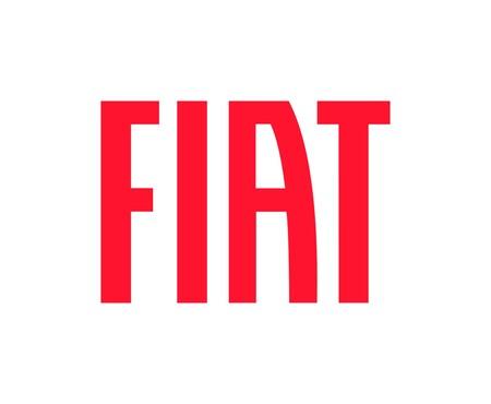 Emblema rojo de Fiat