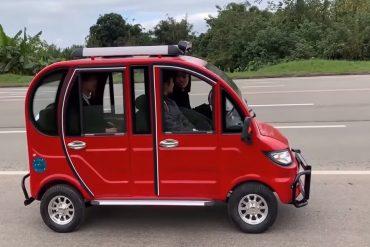 Por solo $ 20.000 puedes comprar este vehículo eléctrico