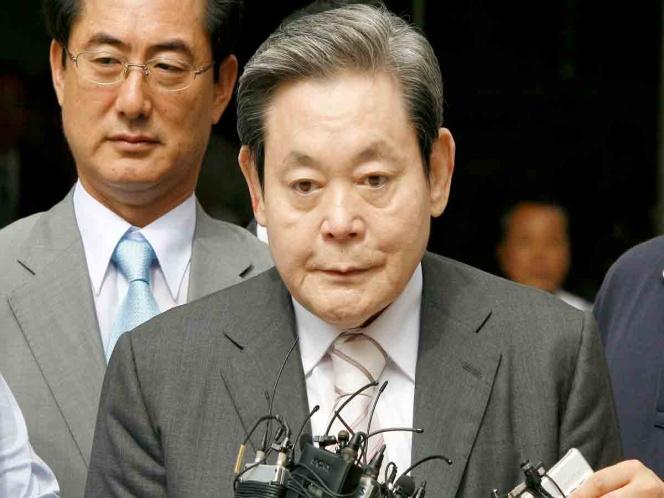 Muere Lee Kun-hee, presidente de Samsung y el hombre más rico de Corea del Sur
