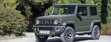 Suzuki Jimny, en juego: un auténtico jeep 4x4, muy eficiente y relativamente asequible