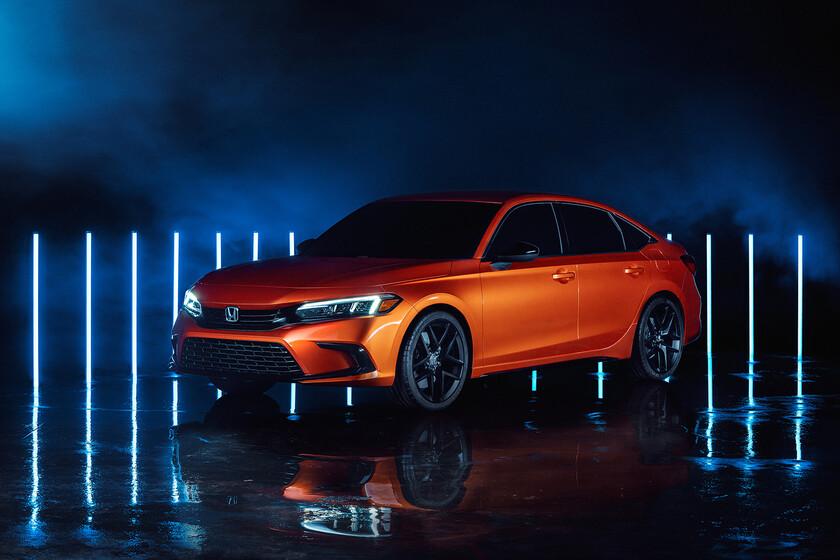 Prototipo Honda Civic 2022: características, fotos e información